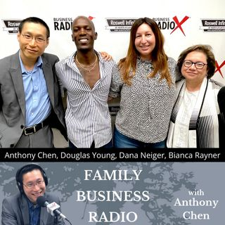 Dana Neiger, Hive, Bianca Rayner, Succentrix Business Advisors, and Douglas Young, Indie Green Festival (Family Business Radio, Episode 21)