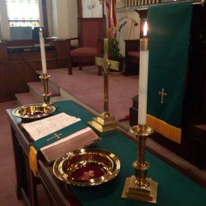 Communion - First Presbyterian Harlan