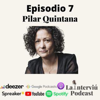 Pilar Quintana: Escritora por encima de mujer
