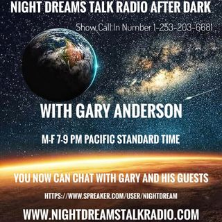 NIGHT DREAMS TALK RADIO AFTER DARK Guest Stephen Erdmann