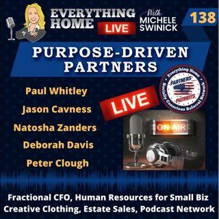 138 LIVE: Fractional CFO, HR, Creative Clothing, Estate Sales, Podcast Network