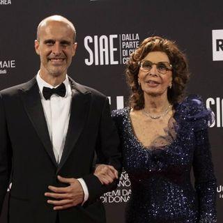 Sophia Loren vince il David  di Donatello 2021