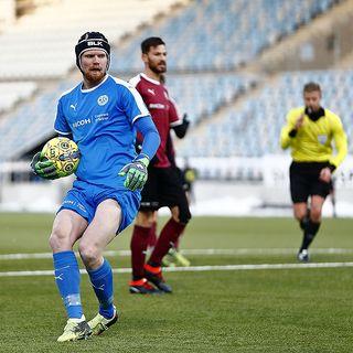 Mathias Karlsson -målvakt i ÖSK