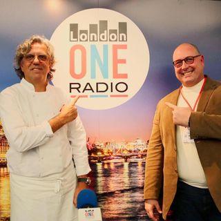 Bellavita Expo 2019 -  Giorgio Locatelli ai microfoni di LondonONEradio live dal più grande trade show italiano