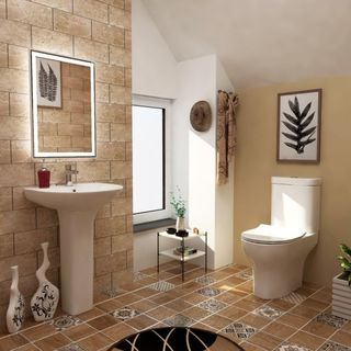Install a contemporary bathroom suite in your bathroom