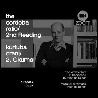 Mutluluğun Mimarisi İlk Okuma | The Cordoba Ratio Reads | Kurtuba Oranı Okumaları
