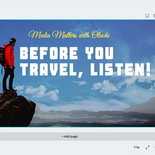 Before You Travel Overseas, Listen!