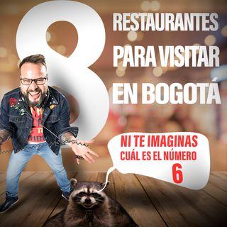 8 restaurantes para visitar en Bogota