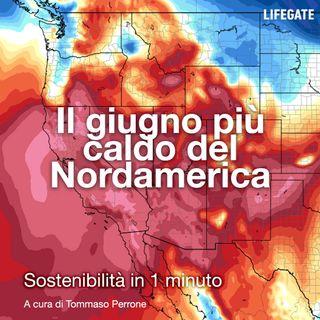 Il giugno più caldo del Nordamerica