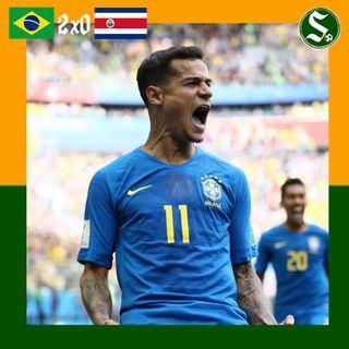 #2 Selecionadas: Brasil 2x0 Costa Rica
