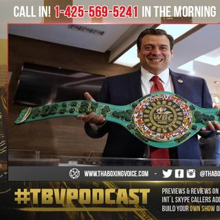 """☎️WBC Prez Fires🔥 Back at Dillian Whyte """"They've Been Stalling""""😳"""