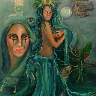 Chalchiutlicue - La De La Falda De Jade (Deidad Del Agua)