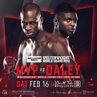 "Biggest MMA Fight In Bellator History For UK Fighter's Live On Sky Sport's For The First Time!!!Paul""Semtex""Daley v MVP Bellator 216"