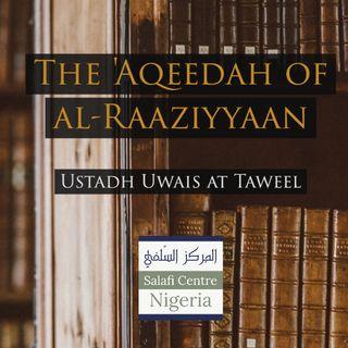The Aqeedah of al-Raaziyyaan | Nigeria