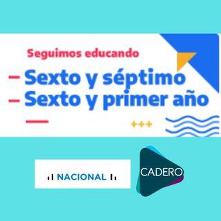 Educar Sexto y Séptimo Grado - Radio Nacional - CADERO