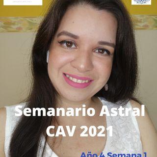 Semanario Astral CAV Enero 2021 Semana 1