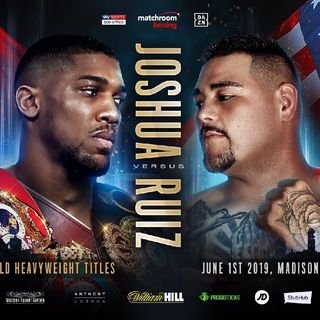Preview Of The Huge Anthony Joshua-Andy Ruiz Jr Heavyweight Titlefight In MSG!!Plus Katie Taylor Bid's To Become The Unified LW Champion!!