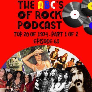 Top 20 of 1974 - Part 1 of 2 - Episode 61