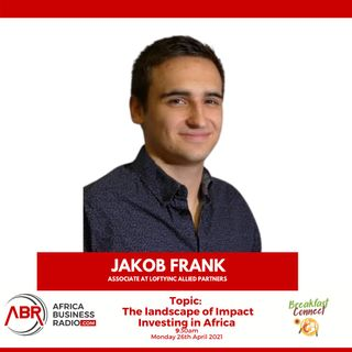 The Landscape of Impact Investing in Africa - Jakob Frank