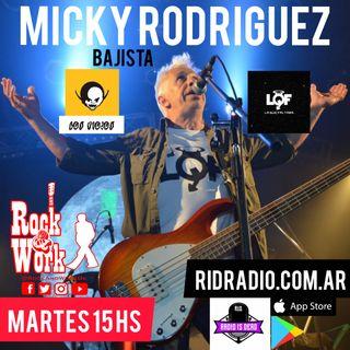 Entrevista a Micky Rodríguez cantante/bajista de La Que Faltaba y Los Piojos