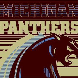 USFL Legends show:Derek Holloway Michigan Panther/Oakland Invader WR!