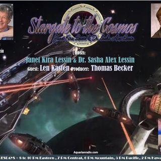 Len Kasten~04/14/20~Stargate to the Cosmos~Janet Kira Lessin & Dr. Sasha Lessin