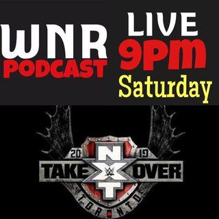 WNR236 WWE NXT TAKEOVER TORONTO LIVE PRE SHOW