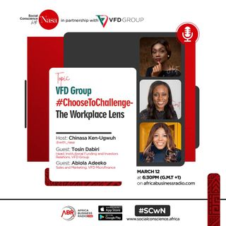 VFD Group #ChoosetoChallenge The Workplace Lens