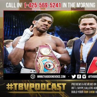 ☎️Eddie Hearn Names Three Potential Opponents For Anthony Joshua if Tyson Fury Fight Doesn't Happen😱