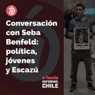 Sebastian Benfeld: del tratado de Escazú y la política para los jóvenes ciudadanos
