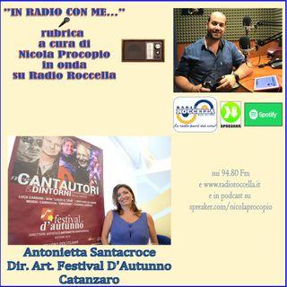 Intervista ad Antonia Santacroce per Festival D'Autunno 2019 a CZ