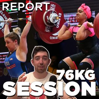 Tokyo Weightlifting W76 | REPORT