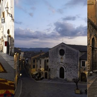 San Gemini il borgo medievale, le terme e l'Infiorata