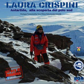 Laura Crispini - Viaggio in Antartide