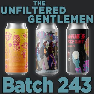 Batch243: HenHouse Brewing The Walrus is Paul, Hidden Springs Ale Works The Upside Down & Eagle Park Brewing's Bowie's Space Suite: Nelson