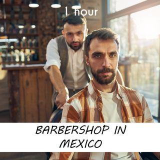 Barbershop in Mexico | 1 hour HAIRDRESSER Sound Podcast | White Noise | ASMR sounds for deep Sleep | Relax | Meditation | Colicky