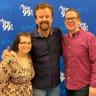 (Full Interview) Casting Crowns's Mark Hall joins Rick and Mysti on Star 99.1