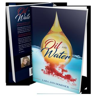 James & Florence talk to Author Lara Ann Dominick about her writing career & her book Oil & Water.