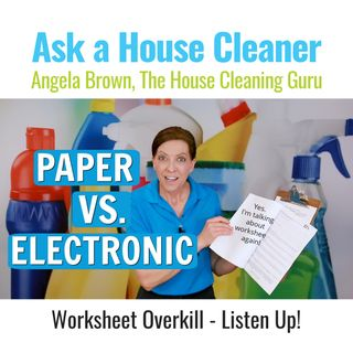 Worksheet Overkill - House Cleaners Listen Up!