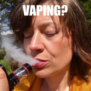 Vaping - should you stop?