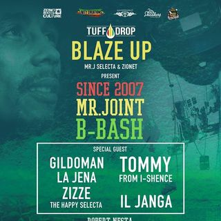 Blazeup Party MrJ B-Bash Gildoman + Tommy I-Shence (Vinyl Only)