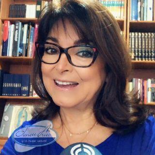 "Dominika Paleta, autora del libro: ""Viva la Vida"", con los ""rituales a la hora de la comida""."