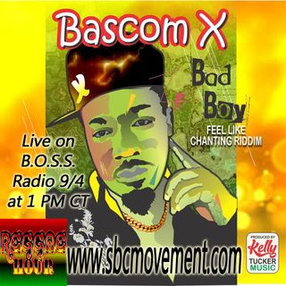 [Live Interview] Bascom X on B.O.S.S. Radio