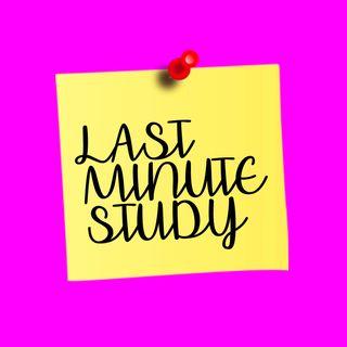 TIPS | Last Minute Study