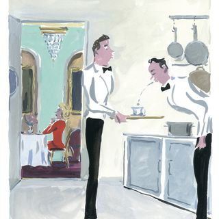 The Parisian Restaurant - by Richard Mason