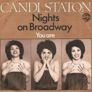 """Parliamo del brano """"Nights on Broadway"""", scritto e interpretato dai Bee Gees nel 1975, due anni dopo con Candi Staton divenne una hit Disco."""