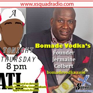 Bomade Vodka - Lemonade Infused Vodka CEO / Founder Jermaine C stops thru