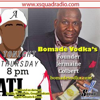 Bomade Vodka - Lemonade Infused Vodka CEO / Founder Jermaine C stops thru