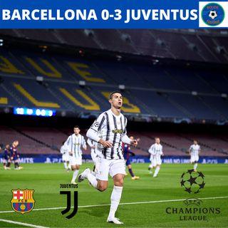 IMPRESA! BARCELLONA 0-3 JUVENTUS!!!