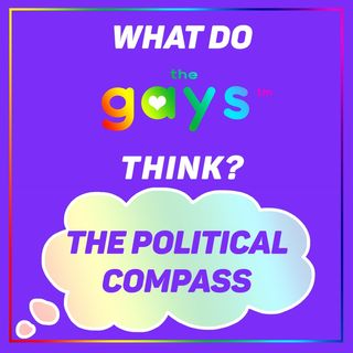 Where do The Gays Fall on the Political Compass?
